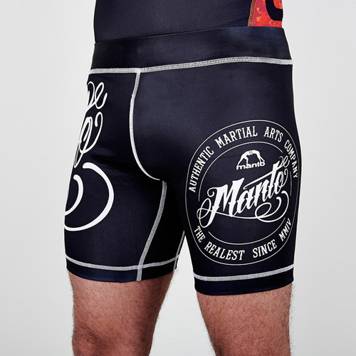 "MANTO ""AUTHENTIC"" VALE TUDO Shorts Black"