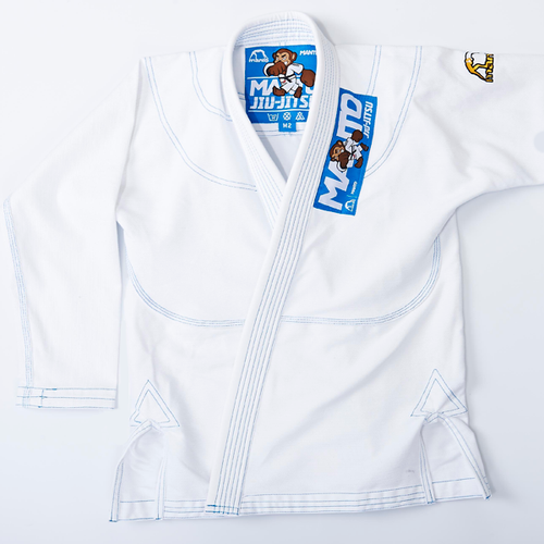 "Manto ""Monkey"" GI for Kids - White"