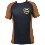 "Rashguard ""Emblem"" Brown - IBJJF Approved"