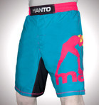 "Pro Shorts ""TOBIKAN"" Blue/Yellow/Pink"