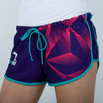 "Shorts ""DIAMOND"" for Women Purple"
