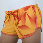 "Shorts ""Diamond"" for Women Yellow"