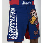 "Pro Shorts ""Warriors"" Navy"