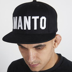 "Cap ""MANTO"" Black"