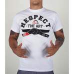 "T-Shirt ""HESPECT"" White"