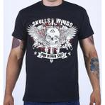"T-Shirt ""SKULLS"" Black"