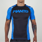 "Rashguard ""Victory"" Blue - IBJJF Approved"