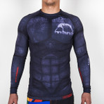 "MANTO ""ALTIA"" RASH GUARD Black"