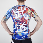 "MANTO ""BUSHIDO"" RASH GUARD Short Slv"