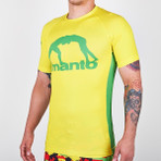 "MANTO ""RIO"" RASH GUARD  Yellow"
