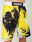 "MANTO ""KRAZY BEE"" SHORTS Black/Yellow"