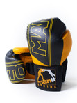 "MANTO ""SPARRING"" Boxing Training Gloves Black"