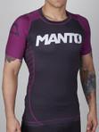 "MANTO ""CHAMP"" RASHGUARD Purple - IBJJF Approved"