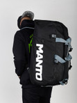 "MANTO ""BOOST"" Backpack Black"
