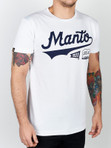 "MANTO ""NUMBER ONE"" T-SHIRT White"