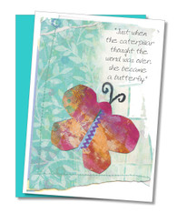 """Caterpillar"" Encouragement Card"