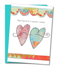 """Heart is Never Alone"" Encouragement Card"