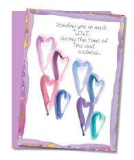 """Sending So Much Love"" Sympathy Card"