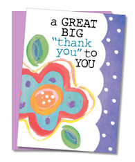 """GREAT BIG Thank You"" Thank You Card"