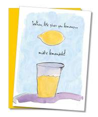 """Make Lemonade"" Encouragement Card"