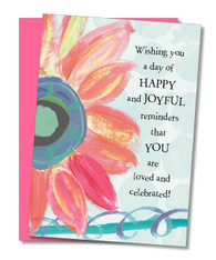 """Joyful Reminders"" Birthday Card"