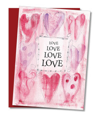 """Love Love You You"" Valentine's Card"
