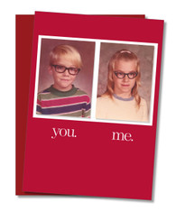 """""""Meant for Each Other"""" Valentine's Card"""
