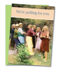 """Pulling for You"" Get Well Card"