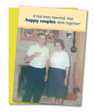 """Happy Couples"" Anniversary Card"