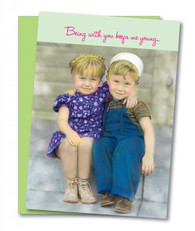 """Being With You"" Anniversary Card"