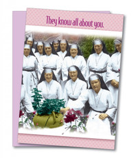 """""""They Know All About You"""" Friendship Card"""