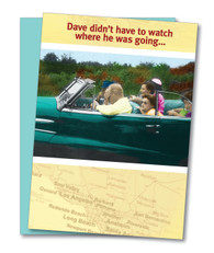 """Backseat Driver"" Anniversary Card"