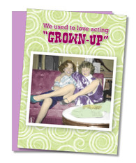"""Act Like Kids"" Birthday Card"