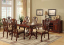 fa3222t - Cody Cherry Solid Wood Seven Piece Elegant Formal Dining Set