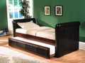 ac02420 - Del Espresso PU Leather Daybed and Trundle
