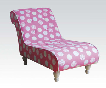 AC59028   Mya Pink Youth Chaise Lounge Chair
