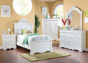 AC30240T - Estrella White Solid Wood Youth Bed