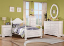 30125T - Classique White Solid Wood Youth Bed