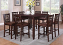 AC70680 - Adalia 9 Piece Counter Height Dining Table