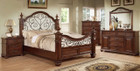 FA7811 - Cody Antique Dark Oak Solid Wood Adult Bed