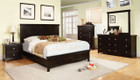 FA7113EX - Spruce Espresso Finish Solid Wood Adult Bed