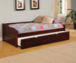 FA1737 - Sunset Cherry Solid Wood Day Bed w/ Trundle