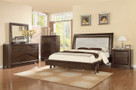 MFB367 - Somerset Brown Solid Wood Adult Bed