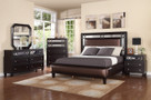 MFB372 - Mel-Rose Brown Solid Wood Adult Bed