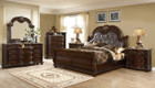 MFB9500 -  Rosa Cappuccino Formal Adult Bedroom Group With Marble Tops