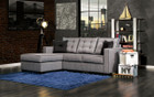 FA8851 - Ravel II Gray Fabric Sectional Sofa