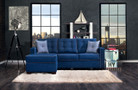 FA8852 - Ravel II Blue Fabric Sectional Sofa