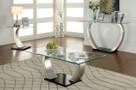 FA4728C - Roxo Silver/Black 3 Pc. Coffee Table