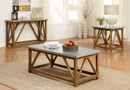 FA4533C - Armous II Natural Tone 3 Pc. Coffee Table Set