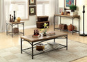 FA4223C - Wylde I Natural Oak 3 Pc. Coffee Table